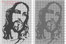 Jesus free crochet filet patterns designs / Jesus free crochet filet patterns designs