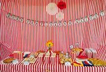 Real party tema circo / Festa di compleanno Alice 4 anni tema circo