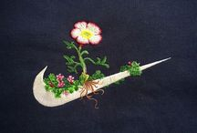 embroidery ♡ flowers