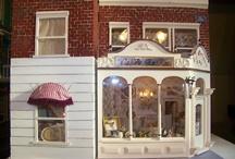 My shabby chic dollhouse