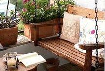 Exteriores - Outdoors / Terrazas, balcones, patios, jardines... La belleza también está en el exterior! Terraces, balconies, yards and gardens... Beauty is in exteriors too!
