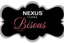 Nexus Femme Bisous / Everybody remembers their first kiss, it's special, and nothing is more special than Bisous.    Designed for the most passionate pleasure seeker it has a patented rotating shaft that gently swirls to massage your g spot for delicious tantalising sensations not yet discovered.  When combined with its 6 function clitoral stimulator Bisous will open your mind to a lifetime of uninhibited bliss.