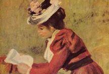 The letter/ la lettre / La lettre au féminin