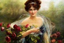 Women Art - Flowers/Garden / by LauChans Art