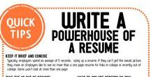 Resume Tips / Resume tips and cover letter samples.
