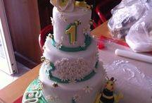 cake design: Ape Maia / torta, cupcake e cake pop per la festa della piccola elisabetta