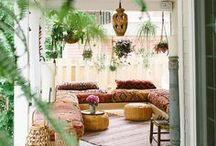 Boho Chic / Ambientes boho chic - Boho chic decoration and interior design