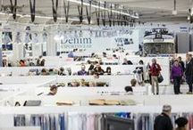 Kingpins, Pitti, Munich Fabric Start, Premiere Vision, Berto is all over the world
