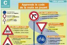 Code de la route / by ViaQuomodo