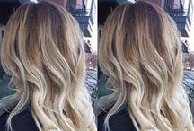 Ihanat hiukset / raidat, liukuvärjäys & balayage