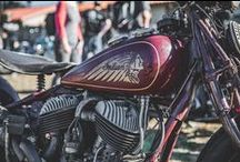 Vintage Motorcycle Inspiration / Ride them don't hide them. This board is filled with bikes we loved seeing at shows and on the road.