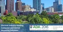 America's Dental Meeting 2016 / Images from the ADA 2016, October 20th-24th 2016 in Denver Colorado. Visit www.ada.org/en/meeting for more information about the convention and don't forget to visit ICW's booth #2035.