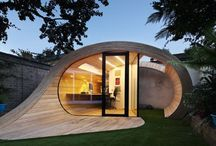 Small Living Spaces / Making the most of a small or tiny living space, with space saving ideas. The smallest homes. Portable living spaces. Tiny houses that expand at a click. Tiny House And Small Space Living Ideas