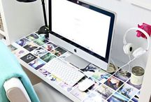 Home Office ideas / Creative Workspace, study, office, working from home, Entrepreneurs