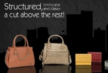 'Stylishly structured In the city'  / At www.baggit.com, Try a structured pretty twist!  Baggit's new range 'Stylishly structured In the city' is all about blending intricate detailing with city-slick functionality for the modern woman.  In colours which are both subtle as well as head turning this nifty collection is one no diva would want to miss out on.   Exclusive available at: www.baggit.com