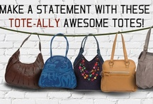 Check out this tote-ally awesome collection! / This spring fall in love with flirty fun totes! Versatile and feminine these beauties made of exclusive cruelty-free materials pack in functionality along with ample style. Go ahead-take the stage! Exclusive Availbale at : www.baggit.com