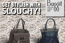 Try a relaxed touch for a stylish appeal. / Why be boring and structured all the time when you can be stylishly slouchy?  Try a relaxed look this season for a unique twist. Made of exclusive cruelty-free fabrics these hobos will have you feeling fab and looking mighty fine! Exclusively Available at : www.baggit.com