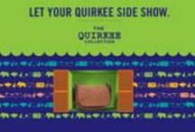Get wild and stylish with our Trendy New Quirkee Collection!! / It's our new uber cool collection titled 'Quirkee' is out to turn your world around! Made from fabulous cruelty-free materials these accessories are crazily stylish with futuristic elements thrown in with a dash of every day inspiration! Versatile, these cuties are just the thing to help you turn heads! Available at Exclusive Baggit Outelts and www.baggit.com