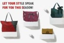 Style up this Season with Awesome Must-Haves!! / Go ahead and turn some heads with these fabulous accessories. Made of rich, cruelty-free synthetic leather these cuties will have you looking simply fabulous!  From day to night - its your time to show off your style and glam up!  Buy now at www.baggit.com
