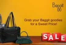 Save Stylishly with Baggit's New Sale! / Its time to load grab the pretty and re-vamp your wardrobe with our New Sale! With luxurious goodies for every occasion you'll be ready to take on the world. So spoil yourself silly, its stylish to save. Available on select products only at www.baggit.com