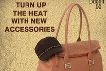 Turn Up the Heat with New Accessories! / Make a statement with Fab New #Accessories. Made of rich, cruelty free synthetic leather these cuties will have you get through the day fabulously! It's your time to shine. Avail these beauties at: www.baggit.com