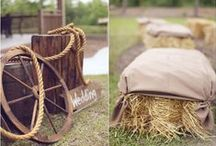Rustic Style Wedding or Event / A collection of rustic style wedding and event items.