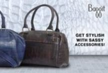 Fashion just got Revamped! New Accessories just for You! / Functionally fabulous head turner Satchel made of luxurious cruelty-free synthetic leather, house ample room for all of one's essentials. Grab that dress and work in a feminine cool look! Grab these and more at : www.baggit.com