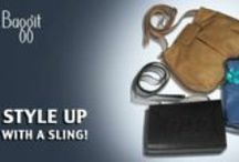 Show Off Your Sassy Side With a Sling! / Made of Cruelty-Free, durable Synthetic Leather slings are now a Fashion must have! Packing in ample room, these versatile cuties are just the thing for when on the run. Hassle-free and Stylish these are just what you need to turn some Heads - Flaunt your Style! Grab these Slings now at : www.baggit.com