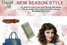 New Look, New Appeal, New Year! / Baggit brings a new turn to your panache with its New Season Style. Check out the latest collection of fashion pieces and drown in style. Grab them Now at: www.baggit.com