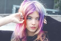 Hairstyles / Hairstyles, colours and tips for her.