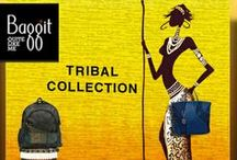 Set a Trend with our Head-Turning Tribal Collection & Stand Out! / The New Highly Anticipated Tribal Collection is here! Made with Cruelty-Free Overworked Synthetic Leathers and Inclusion of Unique Decorative Designs, these Super Trendy and Fashionable Bags & Accesories will blow you away. Tough and extremely Durable, these Products are Oozing Immense Style and Comfort. Shop the New Collection Today, and be Ready to make a Serious Style Statement and Stand out in the Crowd! Avail these now at: www.baggit.com