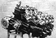 Układy cylindrów silników 2T (dwusuwowych) / Różne układy cylindrów w silnikach motocykli