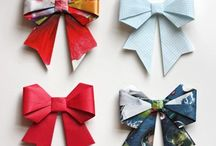 Origami paper and Fabric