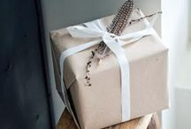 Gifts / Gift wrapping ideas and gifting inspiration.