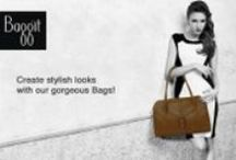 Create stylish looks with our gorgeous Bags! / Fashionable cum Functional, Baggit bags are an excellent way to hold your belongings in style from a wide collection. Choose from different intriguing styles of bags that include, hobo, sling, tote, satchel, hand-held bags, backpacks, laptop bags, and many more available in a wide spectrum of colors and designs.So, don't waste time and hurry to your nearest Baggit store. Also you can log on to www..baggit.com
