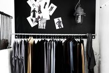 Laundry & Wardrobe inspo / You always need a wise word on how to organise these two bad guys.