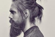 Hairstyle & Beard / As the title says: inspiration for stylish men.