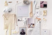 Flat Lays / Randomly themes flat lays. The latest form of art. Inspirational.