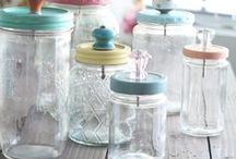 Mason Jar / Pots Masson / Projects you can make with Mason Jar / Projets à réaliser avec des pots Masson ou Bernardin /Gifts, crafts, paint, home decor, deco maison #gifts #mason #diy #projects #crafts