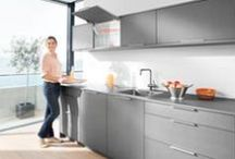 Kitchen / Blum product solutions for furniture in your kitchen.