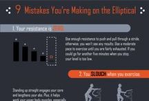 Fitness InfoGraphs / How to get the best workouts!