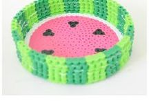 Perler beads for kids / Perler beads pour les enfants / Perler beads, hama beads, fun for kids, crafts for kids, home decor, pour les enfants, bricolage, décorations #perlerbeads #hamabeads #beads #funforkids #homedecor #forkids #bricolage #kidscrafts