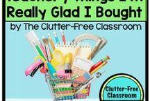 Classroom Ideas / Decorative doors, desk arrangements, reading nooks, and more! #getorganized #WorkColorfully