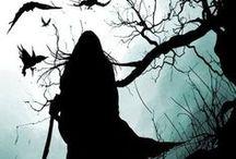dark  (暗い・闇・お化け) / 暗いとか闇とかお化けとかのイメージ