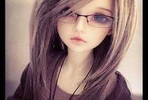 dolls Female  (人形女の子) / 人形の女の子 I'm afraid I will be robbed of my soul (いつか私の魂を奪われてしまいそうで怖い)