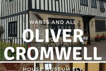 Oliver Cromwell 1599 - 1658 / Born in Huntingdon 25th April 1599. Proclaimed Lord Protector 16 December 1653. Died in Palace of Whitehall London 3rd September 1658.