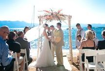 Summer Weddings / There is no place in the world that can lend quite the same backdrop to your special day as Lake Tahoe. Share your photos here!