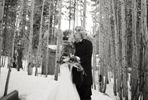 Winter Weddings / What could be more beautiful than a winter wedding with Lake Tahoe as a backdrop?