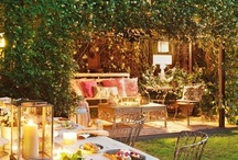 Outdoors - gardens and catering ideas