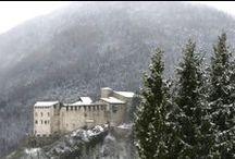 Borghi & Castelli / Nella Comano Valle Salus scopri i Borghi più Belli d'Italia tra il Garda e le Dolomiti e il Castello di Stenico e il nuovo Museo delle Palafitte di Fiavé!